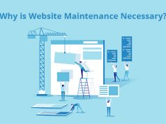 Why is website maintenance necessary